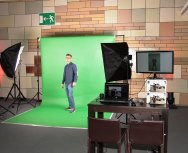 Foto Aktion mit Greenscreenmodul