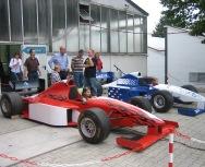 Rennsimulator: Formel 1 hautnah