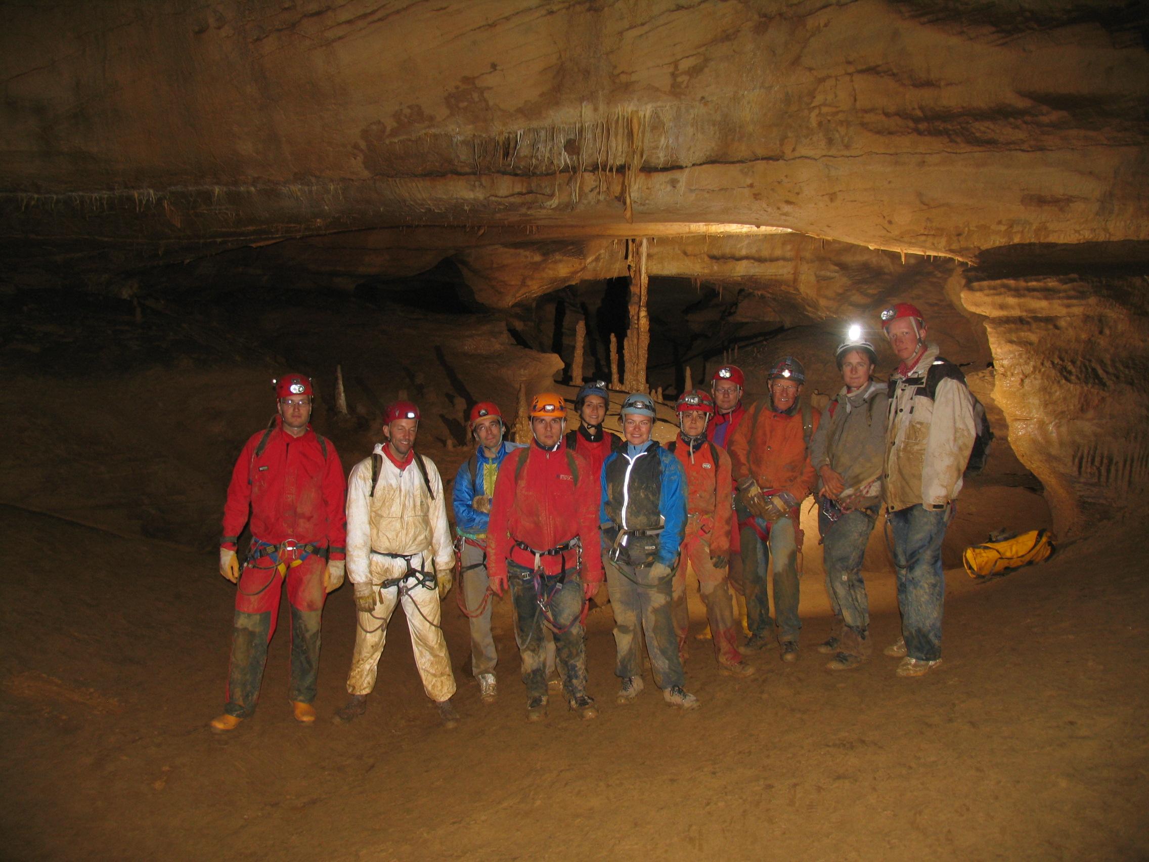 Teamevent: Höhlenabenteuer